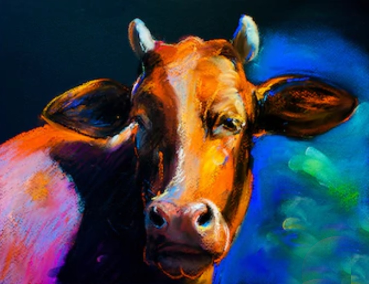 painted cow2